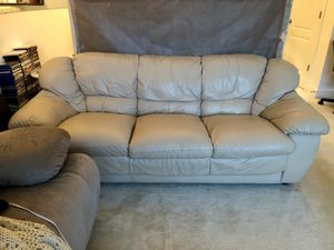 Leather Couch / Sofa for Sale in Fairfax, VA