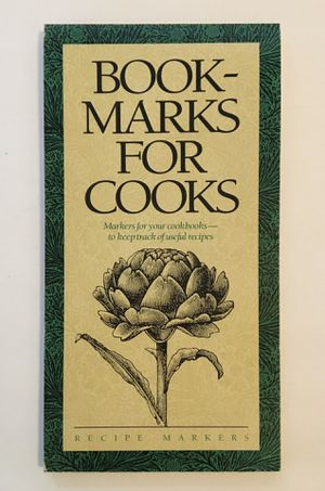 New Bookmarks For Cooks - Recipe Markers for Sale in San Leandro, CA