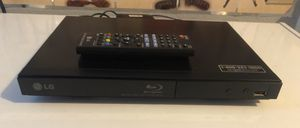 LG DVD BLUE-RAY DISC W REMOTE CONTROL for Sale in Jan Phyl Village, FL
