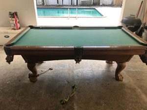 Free pool table. for Sale in Homestead, FL