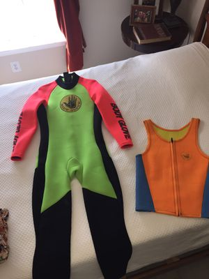 Vintage Body glove wet suit and vest for Sale in Fairfax, VA