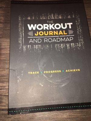Workout journal and roadmap for Sale in Yuma, AZ