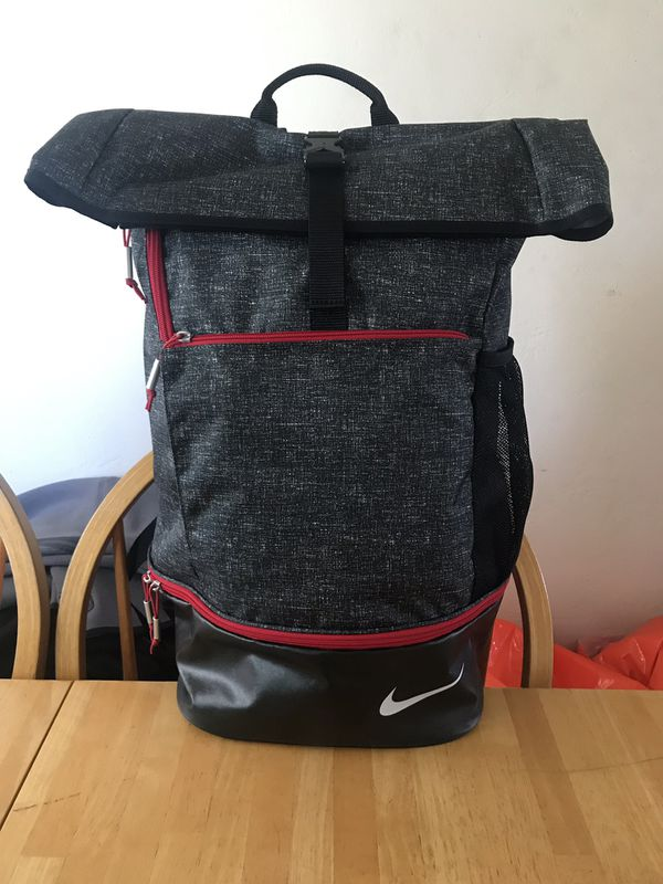 Brand new Nike sport backpack gym bag book school golf baseball