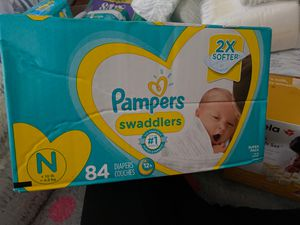 Newborn pampers for Sale in Lancaster, CA