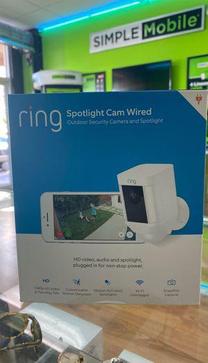 Ring spotlight cam new for Sale in Hialeah, FL