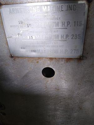 Outboard motor bracket for Sale in Fredericksburg, VA