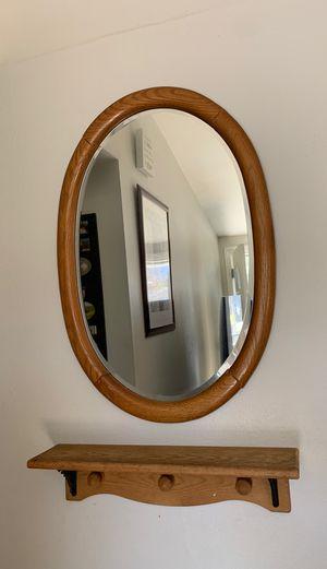 Mirror with shelf for Sale in Santa Clarita, CA