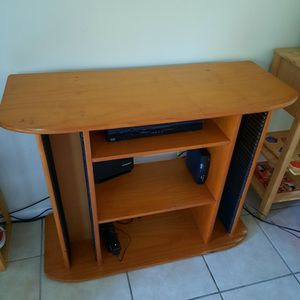 Hard Wood TV Stand for Sale in Tarpon Springs, FL