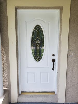 Front exterior door for Sale in TEMPLE TERR, FL