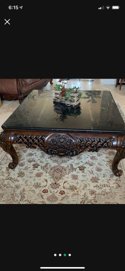 Coffee table marble top for Sale in Long Beach,  CA