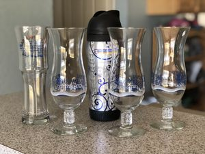 Lot of 5 Authentic ROYAL CARIBBEAN Cruise Souvenir Glasses, 16oz Insulated Travel Bottle Collectibles for Sale in Ocala, FL