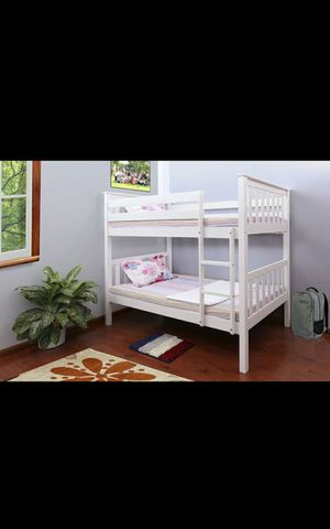 **FIRM PRICE** brand new twin/twin wood bunk bed (3 colors) for Sale in Phoenix, AZ
