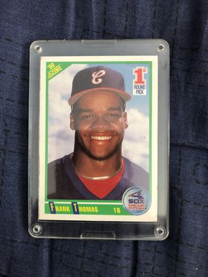 Frank Thomas rookie card for Sale in Los Angeles, CA
