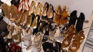 Size 6.5 / 7.0 woman high heels vary good condition for Sale in Los Angeles, CA