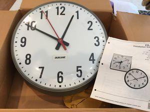 """Clock Dukane 15"""" for Sale in Geneva, IL"""