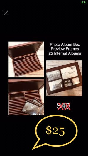 Photo Album Storage Box (Vintage) for Sale in Brooklyn, NY