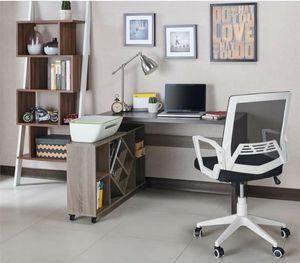 Desk with Bookcase in Espresso Finish for Sale in Ontario, CA