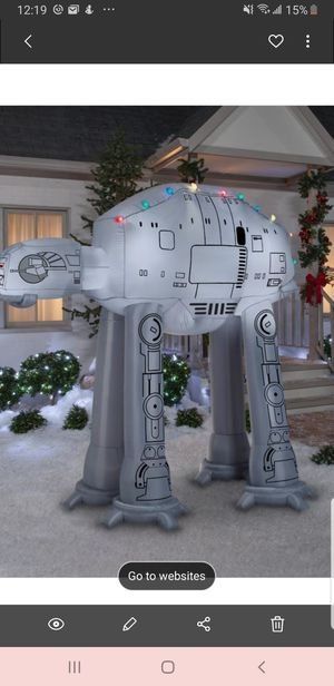 Star Wars Christmas At At Walker for Sale in Ceres, CA