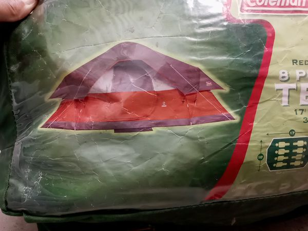 Coleman Red Canyon 8-Person Tent | Basically New/Barely Used