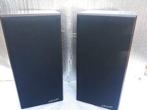 Polk Audio Series 5 shelf or floor speaker set for Sale in Lacey, WA