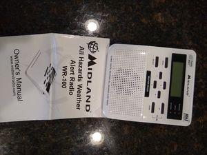 Midland all hazards weather alert radio for Sale in Algonquin, IL