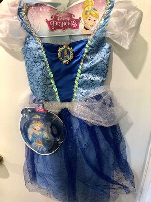 New Disney Cinderella COSTUME DRESS for Sale in Las Vegas, NV