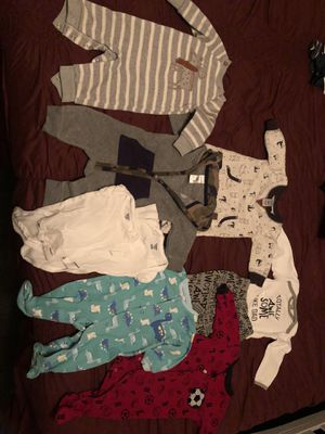 Baby boy clothes nb-3m for Sale in Littlerock, CA