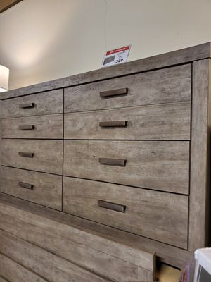 Dresser with 2 Deep Drawer, Grey for Sale in Garden Grove, CA