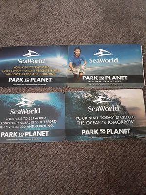 4 Aquatica only tickets for Sale in San Antonio, TX
