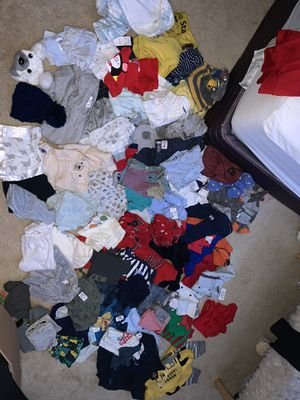 Baby boy clothes!! All you need for Sale in North Bethesda, MD