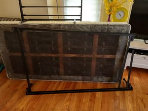 Free Box spring with metal and wood strength for Sale in ROXBURY CROSSING, MA