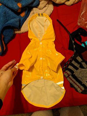 Small dog rain jacket for Sale in Dallas, TX
