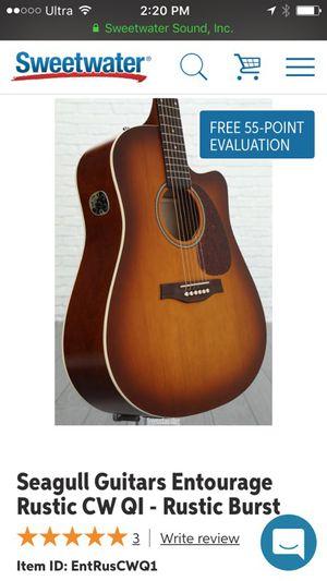 Seagull Guitar for Sale in Boston, MA