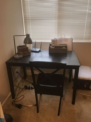 Desk, chair and organizers for Sale in MARTINS ADD, MD