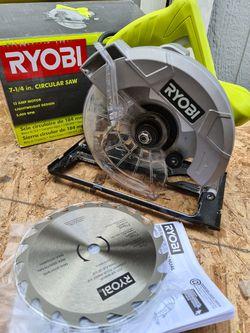 Ryobi 13 Amp Corded 7-1/4 in. Circular Saw for Sale in Snohomish,  WA