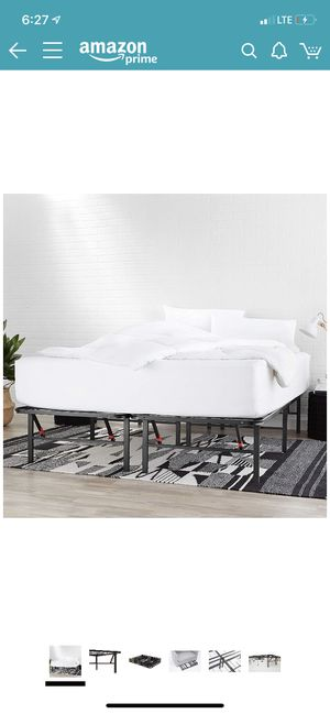 Metal bed frame full size for Sale in Los Angeles, CA