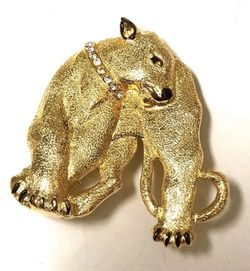 Gold Bear Brooch For Animal Lovers NEW for Sale in Queens,  NY