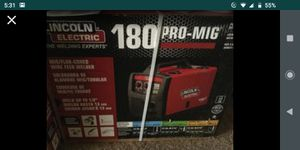 (BRAND NEW) $600 180 pro-mig Lincoln electric for Sale in Moreno Valley, CA