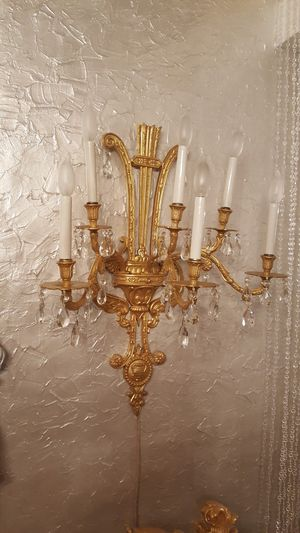 Electric Wall Candelabra Lamp Light Candle Holder for Sale in Orlando, FL