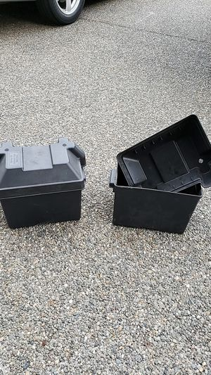 Battery box's. for Sale in Sumner, WA