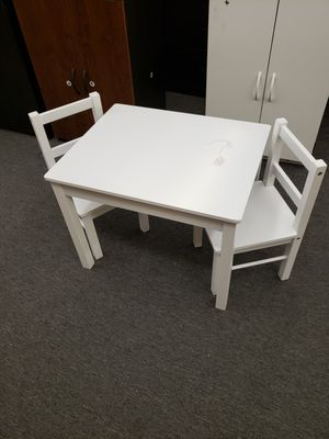 Kids Table And Chairs 2 (Minor Scratch & Dent) $45 JM AUTUMN SPECIAL 🍂 for Sale in Houston, TX