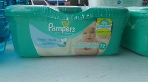 Pampers wipes (72) for Sale in Columbia, TN