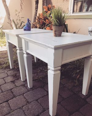 Two Matching End Tables for Sale in Holiday, FL
