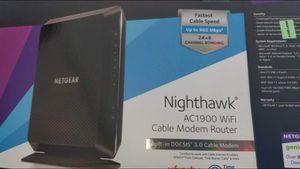 Netgear gaming modem router NIGHTHAWK for Sale in Fullerton, CA