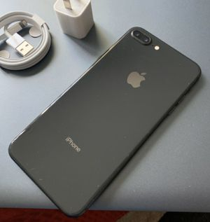 iPhone 8 plus (8+), 64GB - just like new, factory unlocked, clean IMEI, clear iCloud for Sale in Springfield, VA