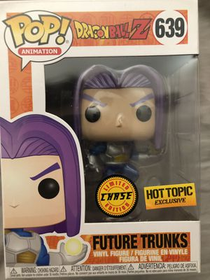 Future trunks chase hot topic exclusive Funko pop for Sale in Lynnwood, WA