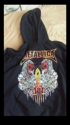 Large black metallica hoodie for Sale in Brandon, FL