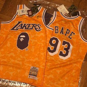 Los Angles Lakers Bape Jersey S-XXXL for Sale in Santa Monica, CA