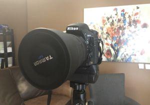Nikon D810 full frame camera for Sale in Washington, PA