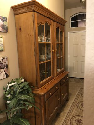 China Cabinet/Hutch for Sale in Denton, TX